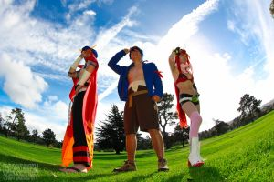 We are Team Gurren Lagann! by RenoBenPhotography