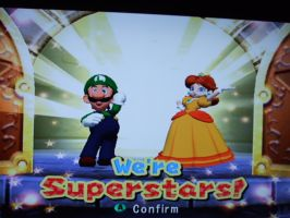 Mario Party 7 -- Luigi and Daisy by WarioMan3K