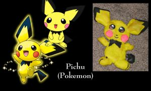 Pichu Ornament by All-shall-fade