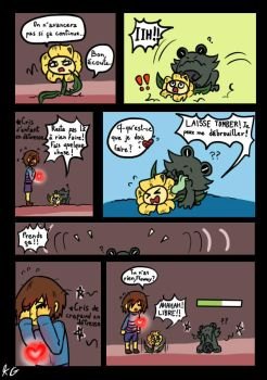 Underfell p.18 By Kaitogirl French by Zephron-drawing