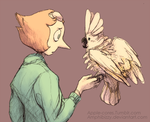 Pearl's Cockatoo [scrapped BKPeri concept] by Amphibizzy