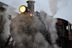 Steamin at the Station by mtsofan