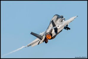 F-35 Takeoff by AirshowDave