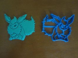 Flareon Cookie Cutter 01 by B2Squared