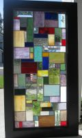 Random Rectangle Mosaic by reflectionsshattered