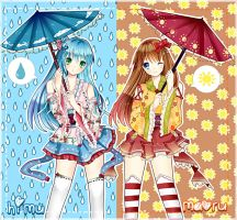 Summer And Rainy by Namiiu