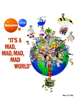 It's a Mad, Mad, Mad, Mad Toon World by MoFrackle