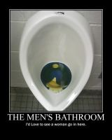 Men's Bathrooms -demotivation- by Dragunov-EX