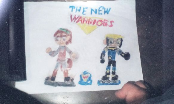 Disney Infinity Idea: New Warriors Playset by EmmoniCrash