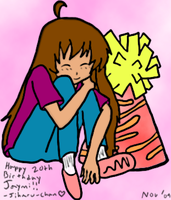 .:Gift:. Jaymi's 20th by Jiharu-Ikumiya