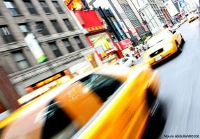 Busy New York by Noura-a-a