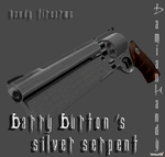 Barry Burton's Silver Serpent by DamianHandy