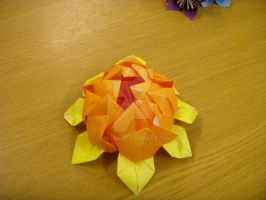 Origami Lotus by Uria86