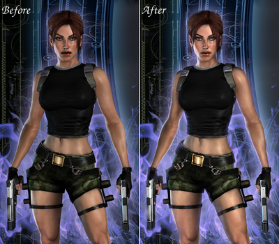 HD Realistic AOD by ViCt0RXD, side-by-side edit by JAMsEye