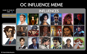 OC influence meme-Denazi by denahzi