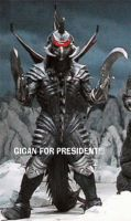 GIGAN FOR PRESIDENT by GiganMaster
