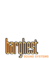 Shadowrun brand logo BARGHEST SOUND SYSTEMS by raben-aas