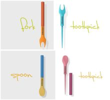 toothpick with multifunction by luwe2009