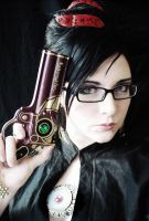 Bayonetta 'Cosplay' by Katie-Woodger