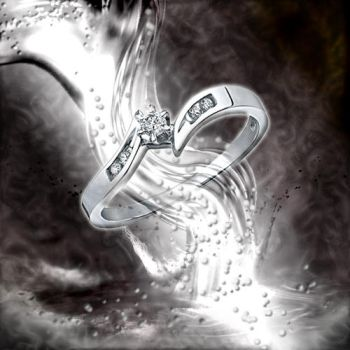 Diamond Promise Ring by DJgray87