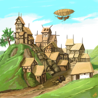 The Village by Crowsrock