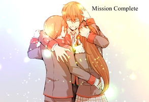 Wallpaper Little Busters! - Mission Complete by Kuroi-Rima