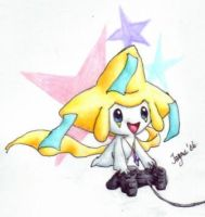 Game On Jirachi 2 by Fai-Ness