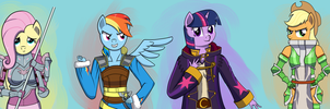 My Little Emblem - The Mane 6 by SyforceWindlight