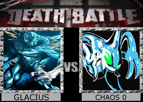 DEATH BATTLE IDEA - GLACIUS VS CHAOS 0 by Stormtali