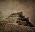 Pyramid of Djoser by WhiteBook
