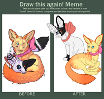 Draw This Again! Meme by iRaynebow