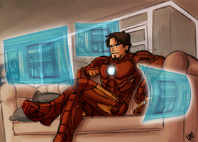 Avengers - About Tony Stark by Renny08