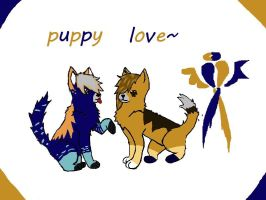 Puppy Love by Rina16000