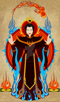 Fire Lord Azula by Earthstar01