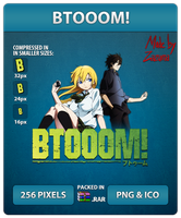 BTOOOM! - Anime Icon by Zazuma