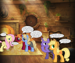 Hyped Busybodies in Hufflepuff Basement by DarthWill3