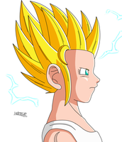 Pan DBA ssj2 by HelvecioBNF