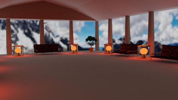 Lounge of Olympus by slepyhed1