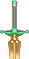 ALTTP Golden Sword by BLUEamnesiac