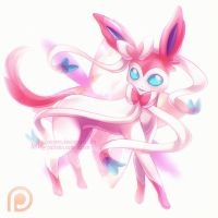 comm:: Sylveon by Axsens