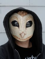 Owl mask with hood by missmonster