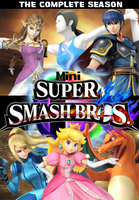 Super Smash Bros. Mini ORG DVD Cover by shadow0knight