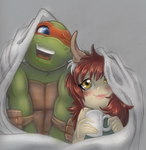 Snuggles by TurtieDroppings