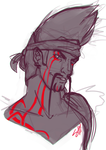 Sketchy Draven by RavenNoodle