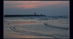 Evening at Scheveningen by Esperimenti