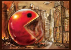 Pacman.Attack by ubuth
