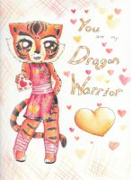 Tigress Valentine by kumapastrychef