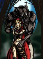 Red riding Hood by BerenikeLibertas