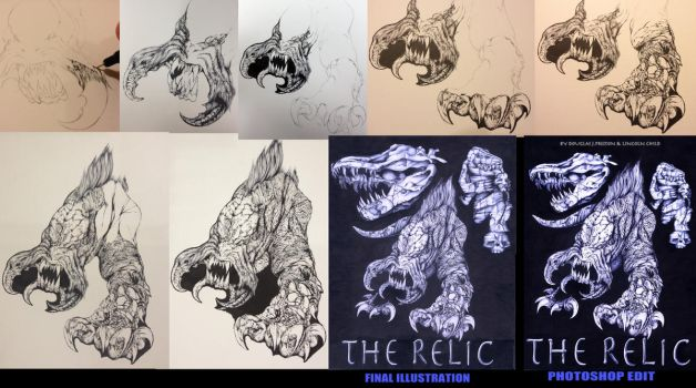 THE RELIC Step by Step by movieartman