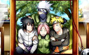 Team 7 Reborn by Smudgeandfrank